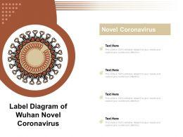 Label Diagram Of Wuhan Novel Coronavirus
