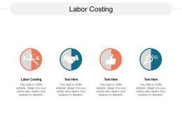Labor Costing Ppt Powerpoint Presentation Gallery Deck Cpb