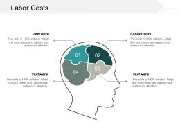 Labor Costs Ppt Powerpoint Presentation Gallery Graphics Pictures Cpb