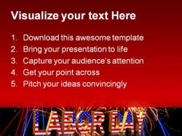 Labor Day Americana PowerPoint Templates And PowerPoint Backgrounds 0111  Presentation Themes and Graphics Slide02