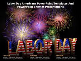Labor Day Americana Powerpoint Templates And Powerpoint Themes Presentations