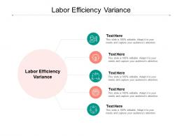 Labor Efficiency Variance Ppt Powerpoint Presentation Show Templates Cpb
