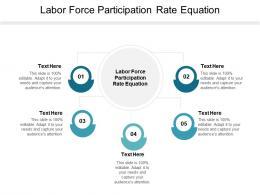 Labor Force Participation Rate Equation Ppt Powerpoint Presentation Ideas Slide Portrait Cpb