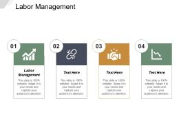 Labor Management Ppt Powerpoint Presentation Gallery Layout Ideas Cpb