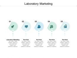 Laboratory Marketing Ppt Powerpoint Presentation Pictures Guidelines Cpb