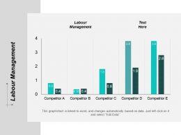 Labour Management Ppt Powerpoint Presentation Portfolio Example Introduction Cpb