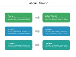 Labour Relation Ppt Powerpoint Presentation Pictures Styles Cpb