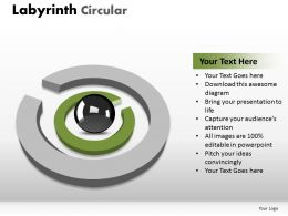Labyrinth Circular powerpoint