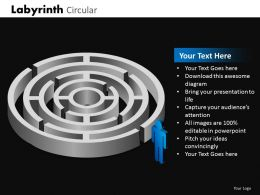 Labyrinth Circular ppt 2