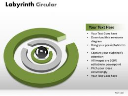 Labyrinth Circular ppt