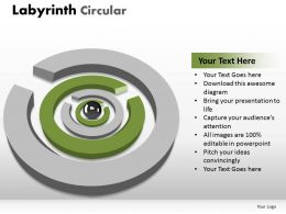 Labyrinth Circular round