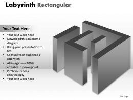 Labyrinth Rectangular design