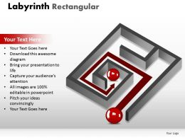 Labyrinth Rectangular powerpoint