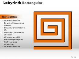 Labyrinth Rectangular ppt 12