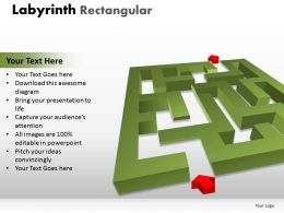 Labyrinth Rectangular ppt 16