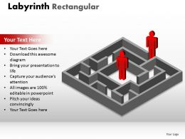 Labyrinth Rectangular ppt 181