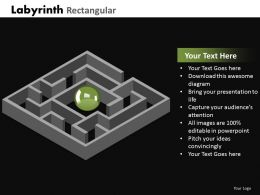 Labyrinth Rectangular ppt 19