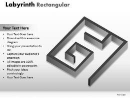 Labyrinth Rectangular ppt 1