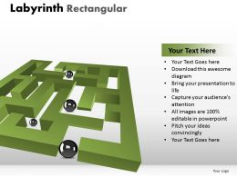 Labyrinth Rectangular ppt 201