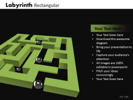 Labyrinth Rectangular ppt 20