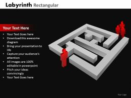 Labyrinth Rectangular ppt 21