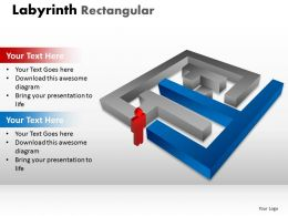 Labyrinth Rectangular ppt 221