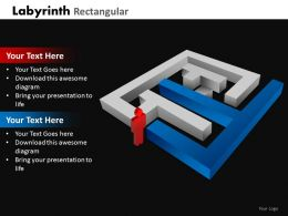 Labyrinth Rectangular ppt 22