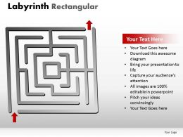 Labyrinth Rectangular ppt 231