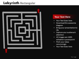 Labyrinth Rectangular ppt 23