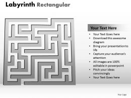 Labyrinth Rectangular ppt 241