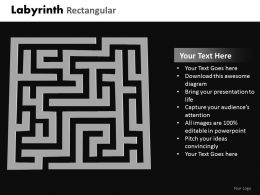 Labyrinth Rectangular ppt 24