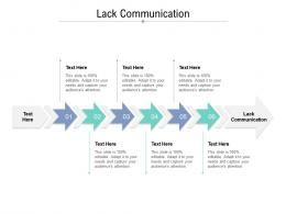 Lack Communication Ppt Powerpoint Presentation Styles Format Ideas Cpb