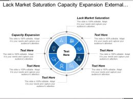 Lack Market Saturation Capacity Expansion External Executive Survey