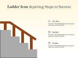 Ladder Icon Depicting Steps To Success