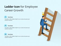Ladder Icon For Employee Career Growth