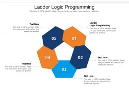 Ladder Logic Programming Ppt Powerpoint Presentation Portfolio Example Cpb