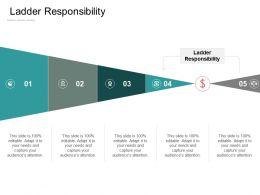 Ladder Responsibility Ppt Powerpoint Presentation Portfolio Deck Cpb