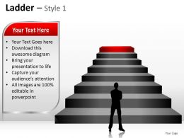 Ladder Style 1 Powerpoint Presentation Slides