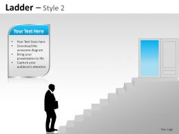 Ladder Style 2 Powerpoint Presentation Slides