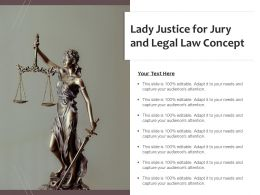 Lady Justice For Jury And Legal Law Concept