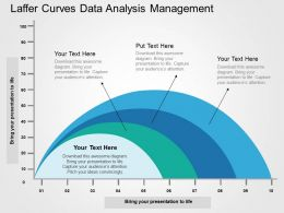Laffer Curves Data Analysis Management Flat Powerpoint Design