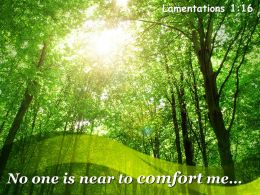 Lamentations 1 16 No One Is Near To Comfort Powerpoint Church Sermon