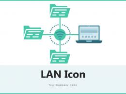 LAN Icon Technology Processing Hierarchy Connection Wireless