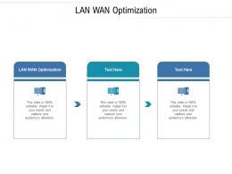 LAN WAN Optimization Ppt Powerpoint Presentation Show Background Cpb