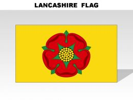 Lancashire Country Powerpoint Flags