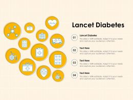Lancet Diabetes Ppt Powerpoint Presentation Gallery Examples