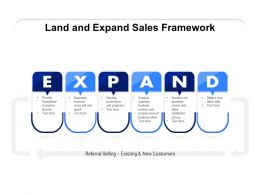 Land And Expand Sales Framework