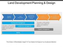 Land Development Planning And Design