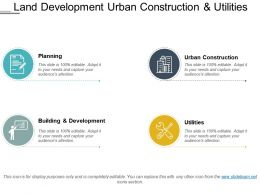 Land Development Urban Construction And Utilities