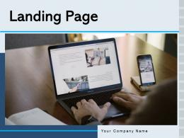 Landing Page Business Development Global Representing Service Information